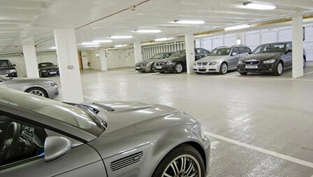 AMPLE CAR PARKING